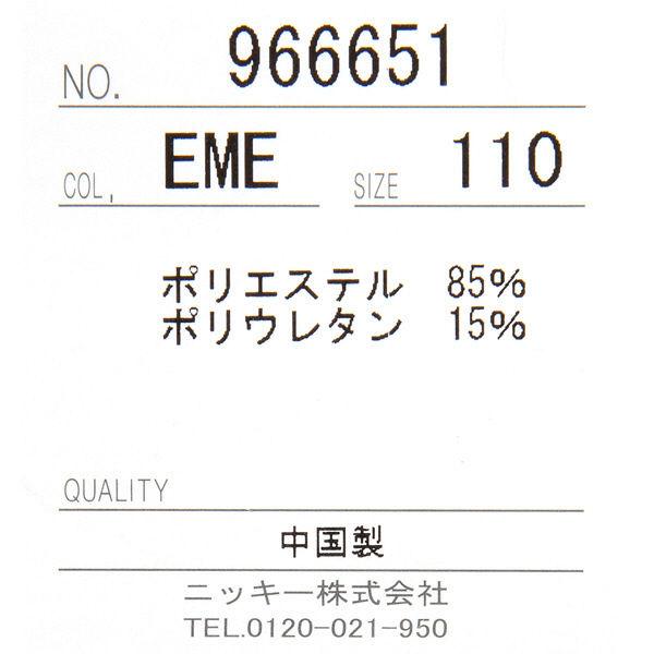 キッズ 水着ワンピニコちゃんエメ110