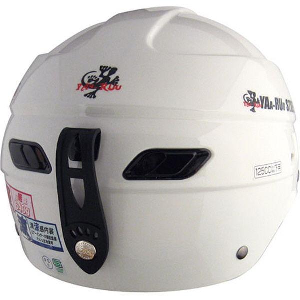 TNK工業 STR Z ヘルメット ホワイト FREE(58-59cm) 510793 (直送品)