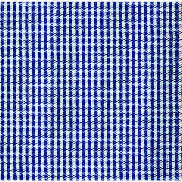 チトセ ボタンダウンシャツ(長袖)[男女兼用] EP8533_C-3ブルーチェック_SS(取寄品)