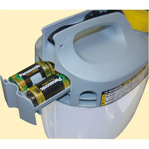 工進 肩掛式 乾電池 噴霧器 3L GT-3S(直送品)
