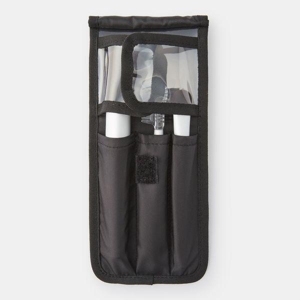 ナイロンメイクブラシポーチ 黒