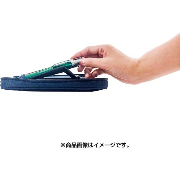 コンサイス フロートペンケース ワイド ネイビー 135876(直送品)