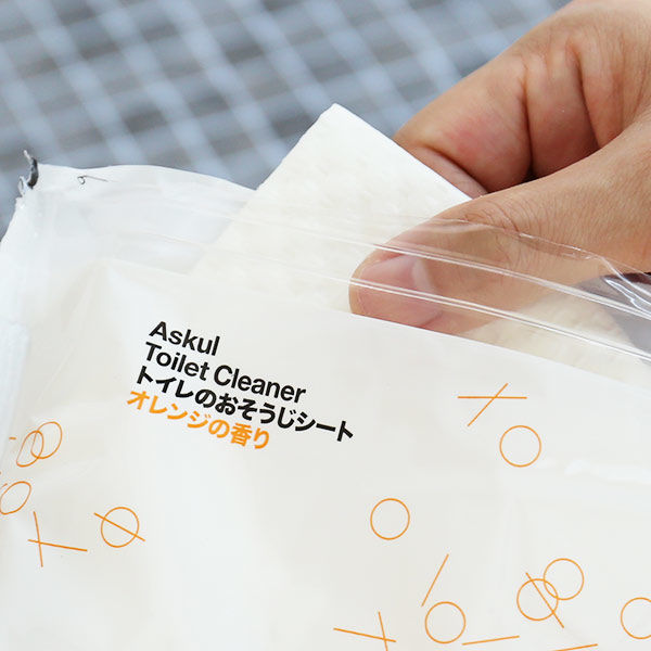トイレのおそうじシートオレンジの香り2個