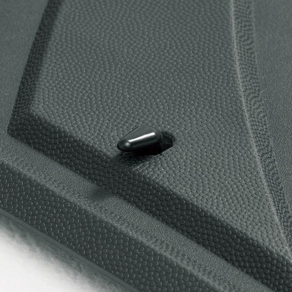 【カー用品】ボンフォーム デザインラバーマット カーマット 前席用 BON-6449-01SI 1個(直送品)