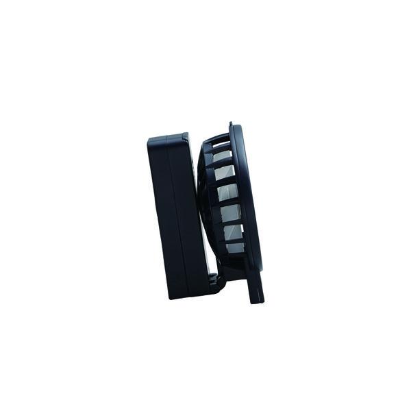 ポータブルファン 乾電池式ブラック扇風機
