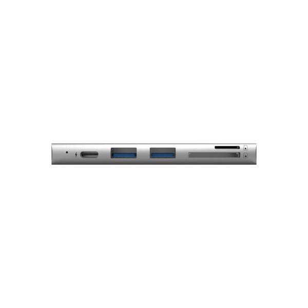 ADAM elements CASA HUB 5E カードリーダーType-Cハブ AAPADHUB5EGYJ 1個(直送品)