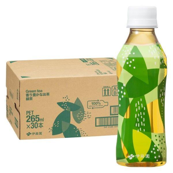 香り豊かなお茶 緑茶 265ml 60本