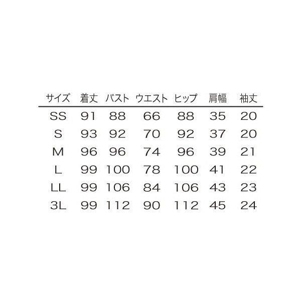 シロタコーポレーション ワンピース E-3134 ブラック LL エステ サロンユニフォーム 1枚(直送品)
