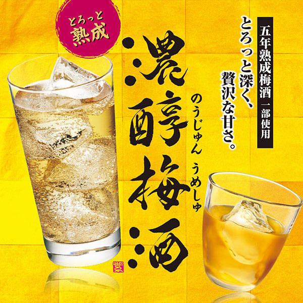 濃醇梅酒 10度 紙パック 1800ml