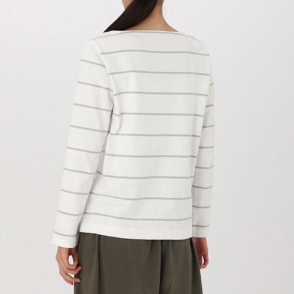 ... オーガニックコットン太番手クルーネックワイドTシャツ(半袖) 婦XS~S ...