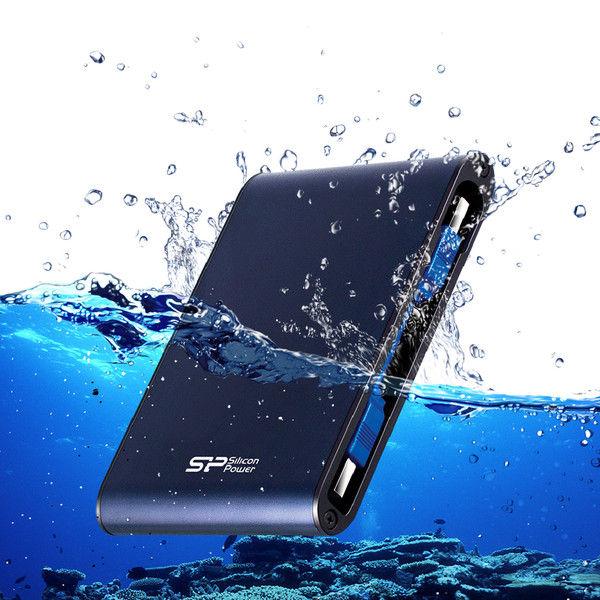 シリコンパワー 防水&耐衝撃ポータブルハードディスク A80 500GB SP500GBPHDA80S3B(直送品)
