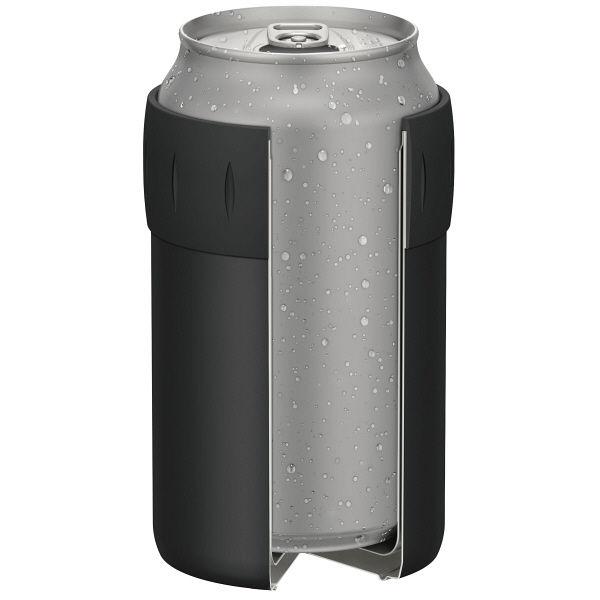 保冷缶ホルダー 350ml缶用 ブラック