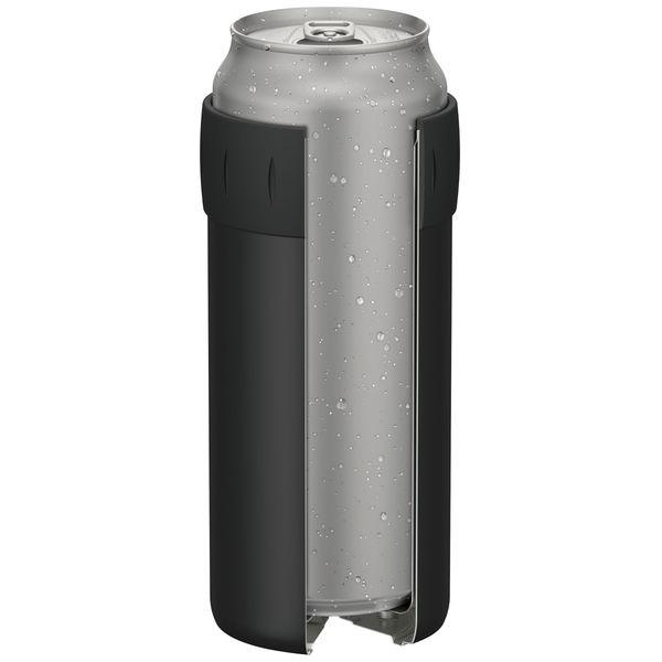 保冷缶ホルダー 500ml缶用 ブラック
