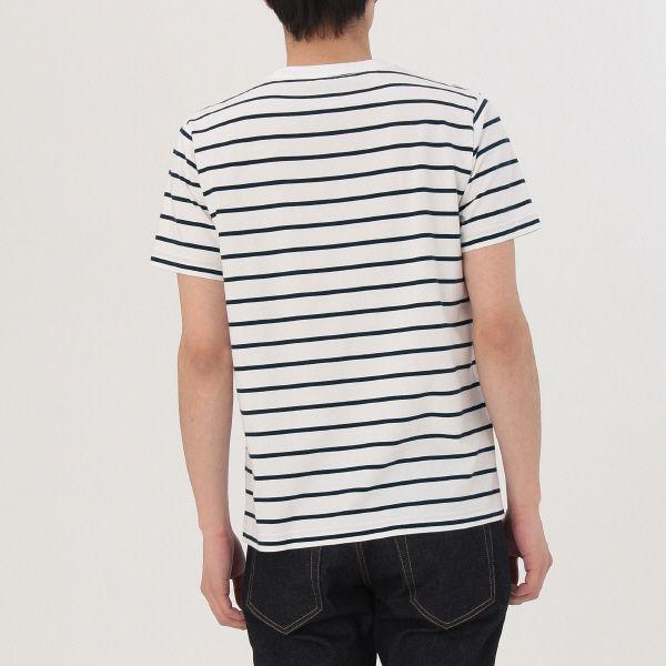 無印 ボーダーTシャツ 紳士 M