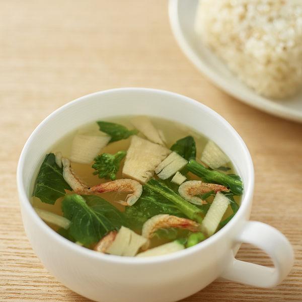 菜の花とたけのこの和だしスープ 2袋