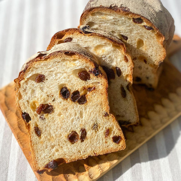 ロハコブレッド石窯レーズン食パン 1個