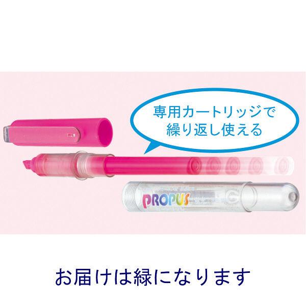 三菱鉛筆(uni) 蛍光ペン プロパス 緑 PUS155.6