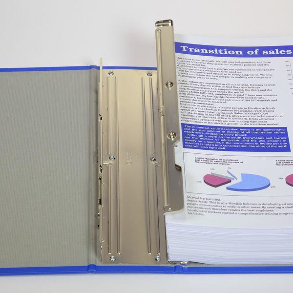キングジム パイプファイル A4タテ とじ厚60mm 青 C68ー2 1冊