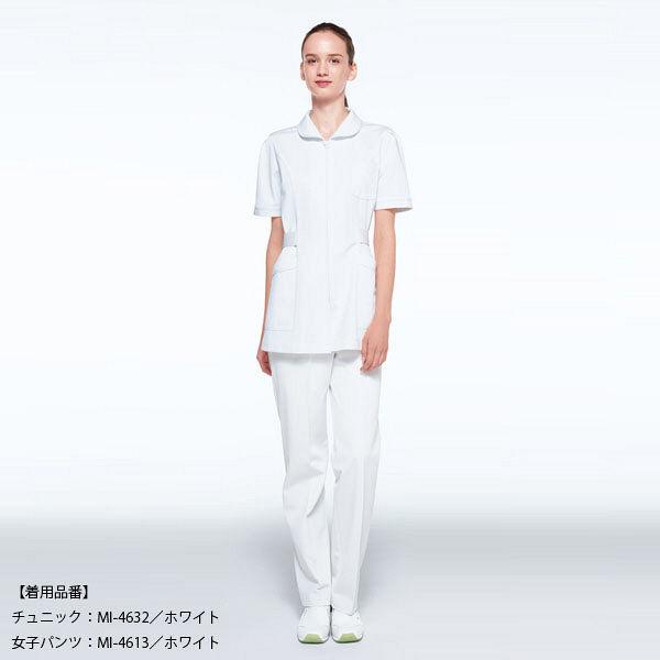 ナガイレーベン レディスパンツ ホワイト S MI4613 1枚 (取寄品)