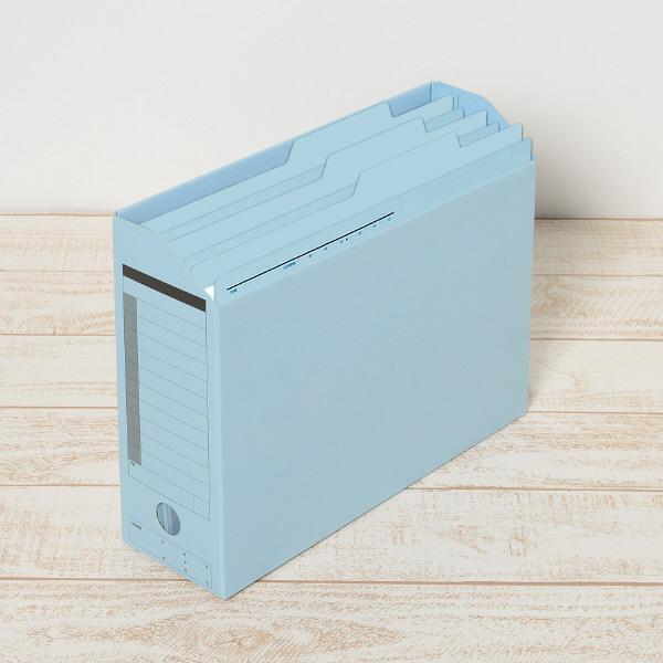 持ち出しフォルダ- A4 藍 100枚