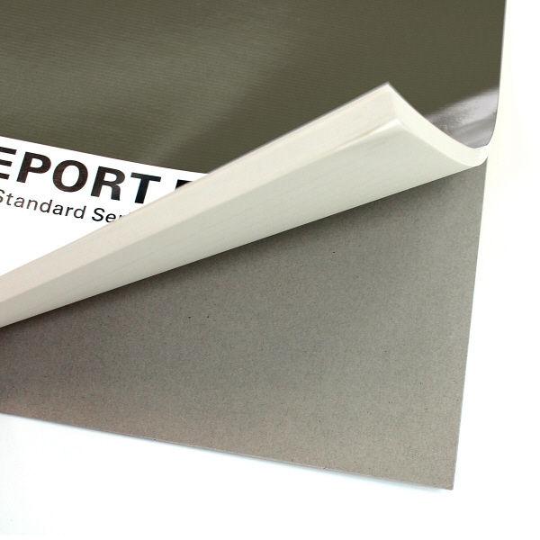 プラス レポートパッドA4 G罫 RE-250G 灰 方眼 76836 1袋(10冊入) (直送品)