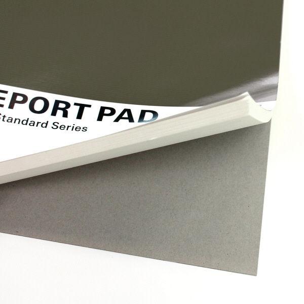 プラス レポートパッドB5 G罫 RE-050G 灰 方眼 76833 1袋(10冊入) (直送品)
