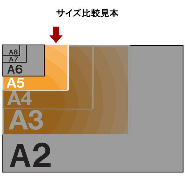 アスクル カードケース ソフトタイプ A5 400枚