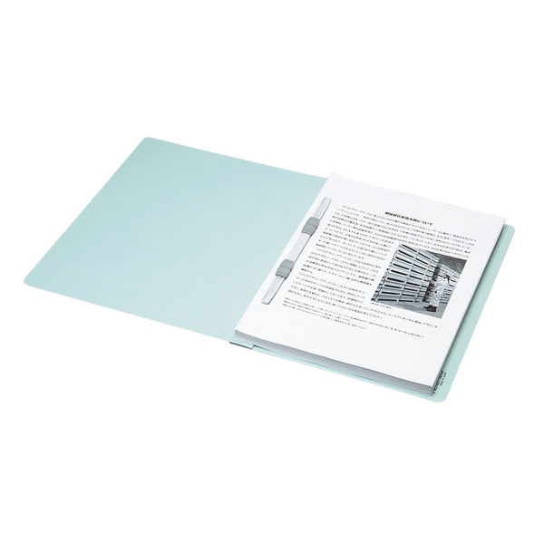 フラットファイル A4縦 緑 100冊
