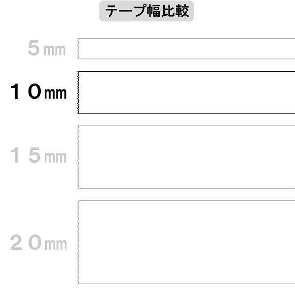 両面テープ カッター付 20m 10巻