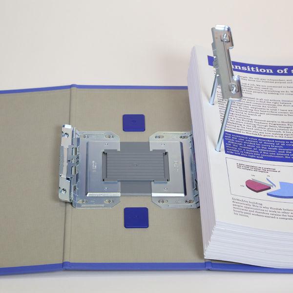 キングジム キングファイルスーパードッチ 特厚 A4タテ とじ厚130mm 青 3513アオ 1箱(5冊入)