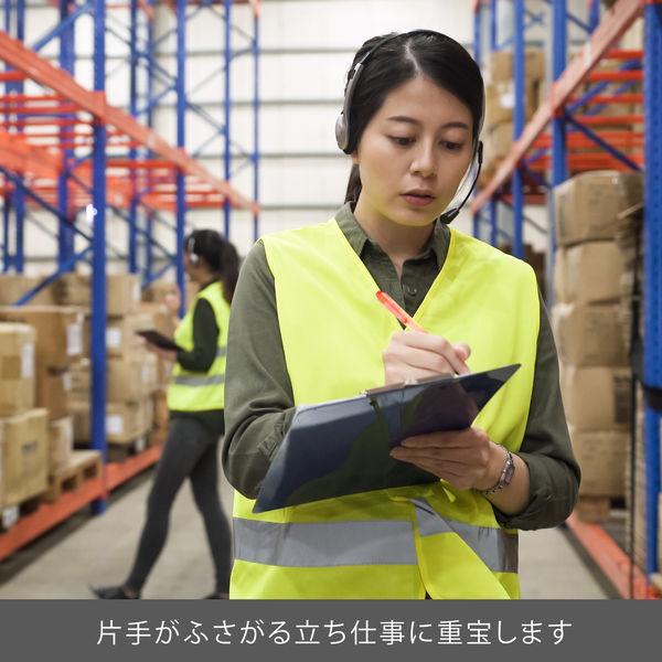 蛍光ペン ノック式ハンディライン 10本