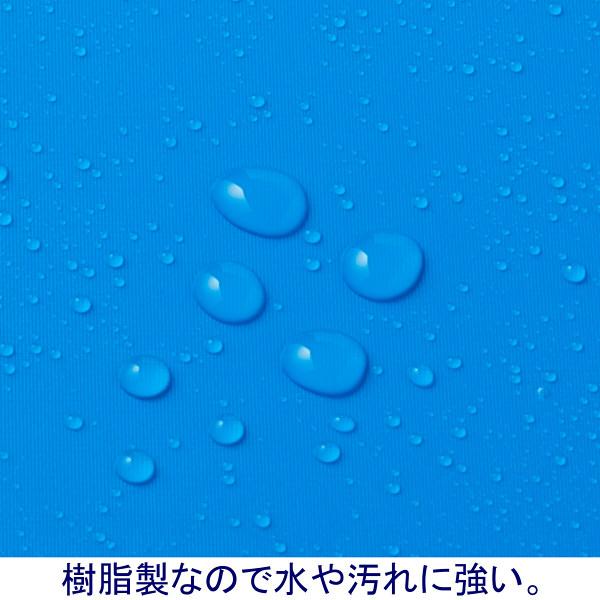 クリップボード A3ヨコ 5枚 ブルー バインダー アスクル