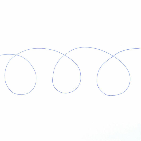 アクロインク 多色替芯 0.5 青10本
