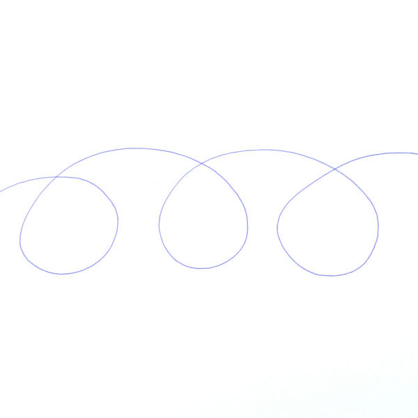 アクロインク 多色替芯 0.7 青10本