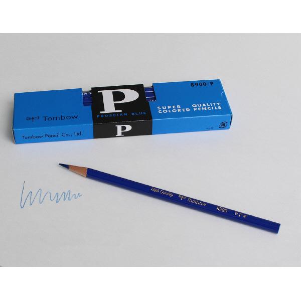 トンボ鉛筆 青鉛筆(藍色)