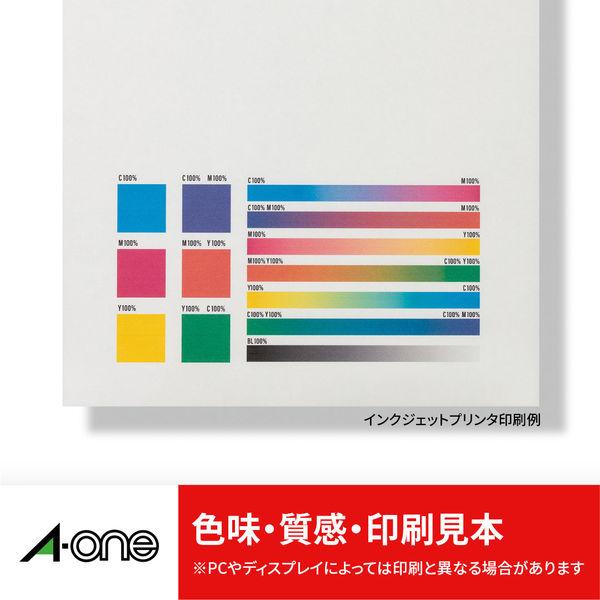 エーワン ラベルシール CD/DVD プリンタ兼用 マット紙 白 2面 内径小タイプ17mmφ 1袋(50シート入) 29168(取寄品)