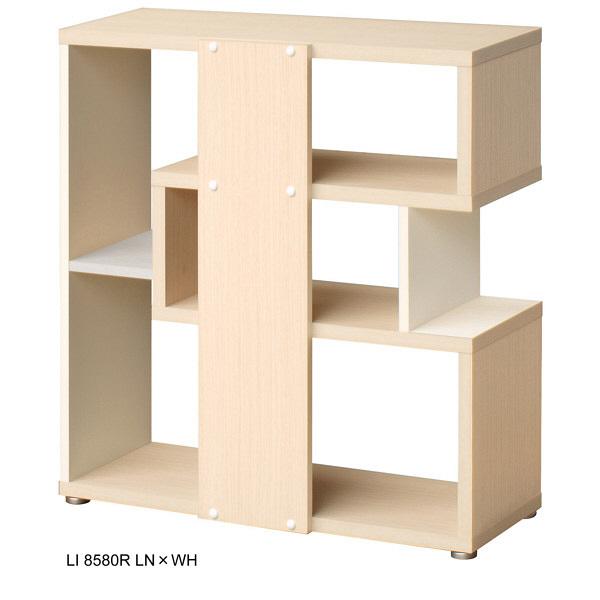 shelfit リエール LI 8580R ウォールナットブラウン/ホワイト (取寄品)