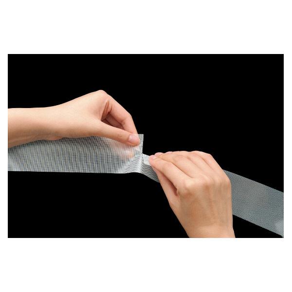 アスクル 養生テープ 半透明 幅50mm×長さ50m 無包装 1セット(90巻)