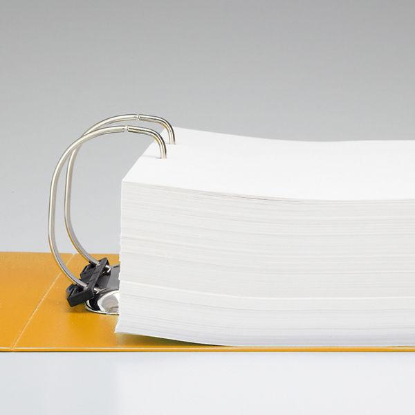 リヒトラブ D型リングファイル A4縦 750枚差し 黄 G2290-5 1箱(10冊入)