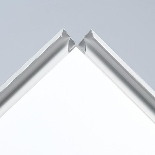 プラチナ万年筆 アケパネライト(低反射)シルバー A1 5枚