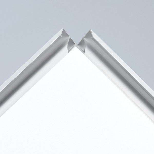 プラチナ万年筆 アケパネライト(低反射)シルバー A2 5枚