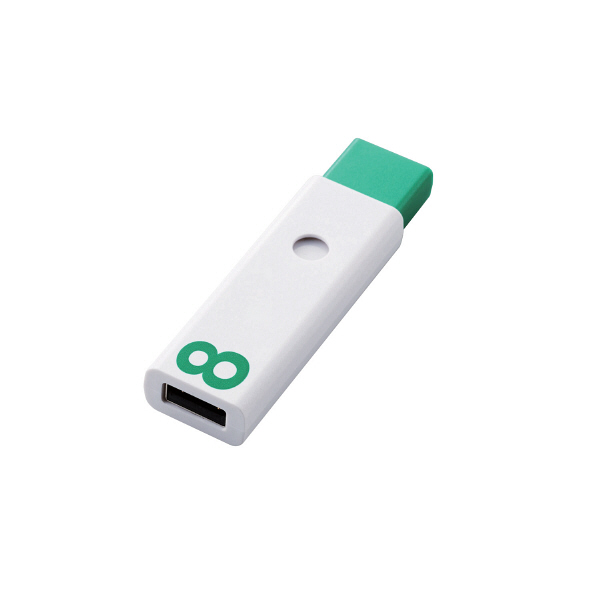 ノック式USBメモリ 8GB