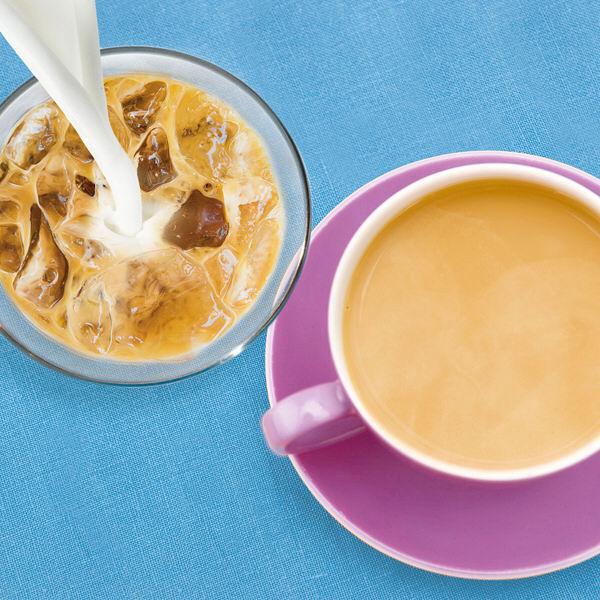 カフェインレス カフェオレ&ミルクティー