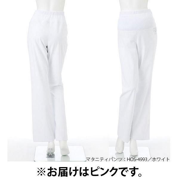 ナガイレーベン マタニティパンツ マタニティナース ピンク M HOS-4993 (取寄品)