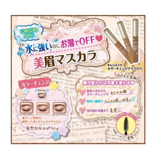 キャンメイク 眉マスカラ 02