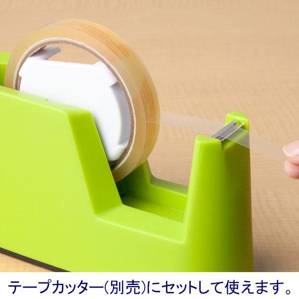 アスクル セロハンテープ 幅18mm×35m 50巻(10巻入×5)