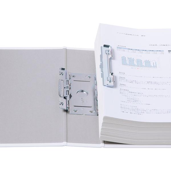 パイプ式ファイルA4 とじ厚50 白
