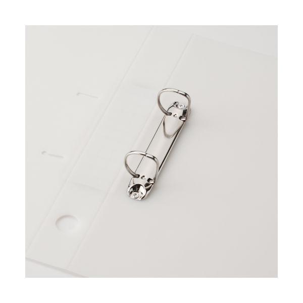 D型リングファイル A4タテ41mm 白