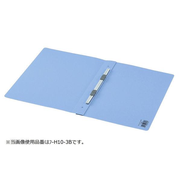 コクヨ フラットファイルPP製 A4タテ背幅20mm 青 フ-H10-3B 30冊