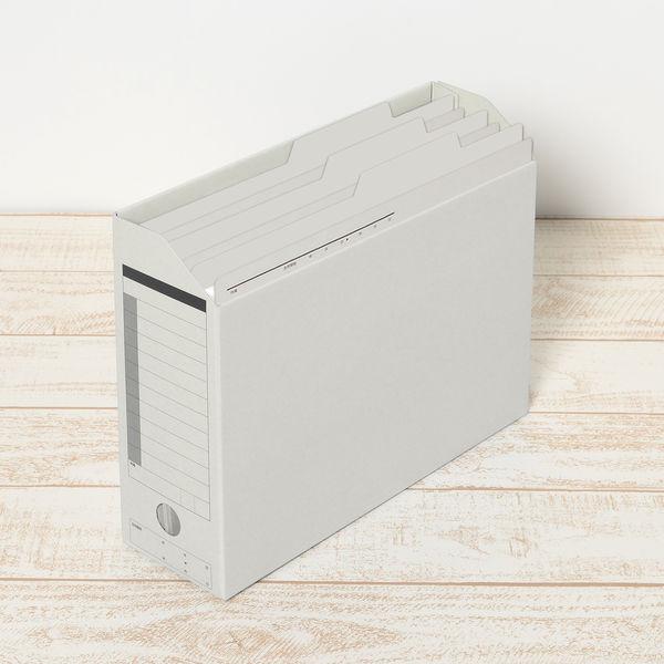 プラス 持ち出しフォルダー A4 グレー FL-061PF 87139 1箱(100枚:10枚入×10袋)